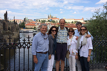 Prague tour guiding with Charles Darkin